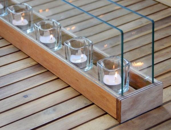 DIY Deko Kerzenstände idee
