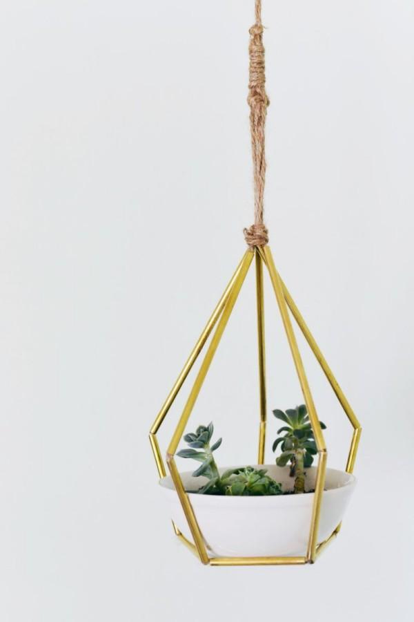 DIY Deko hängepflanzer