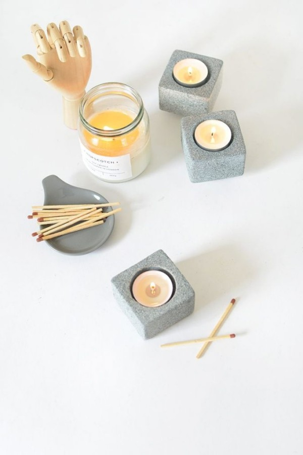 DIY Deko kleine Kerzen