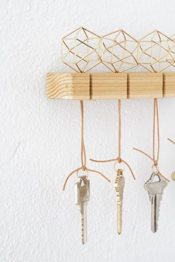 DIY Deko schlüssel aufhängen