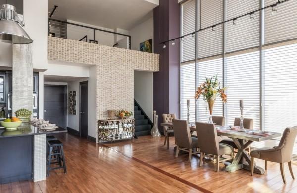 Küchen Ideen essbereich einrichten moderne offene wohnküche