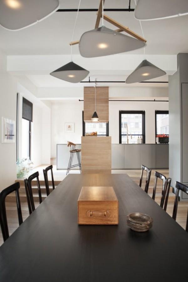 Küchen Ideen industrielle küche wohnküche industrieller essplatz