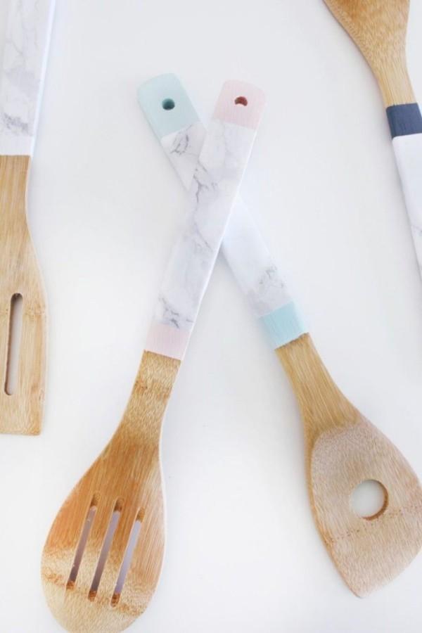 Küchen Untensilien DIY Deko