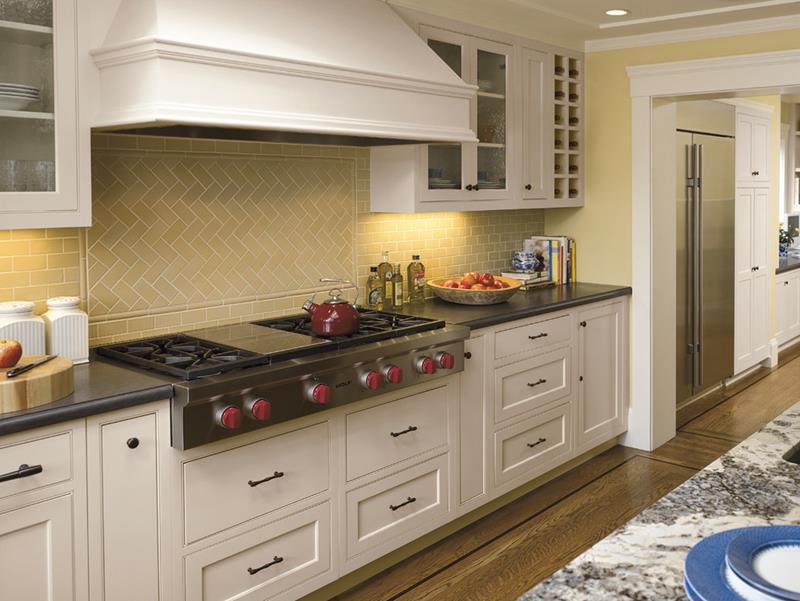 Küchenrückwand Fliesen Zick-Zack