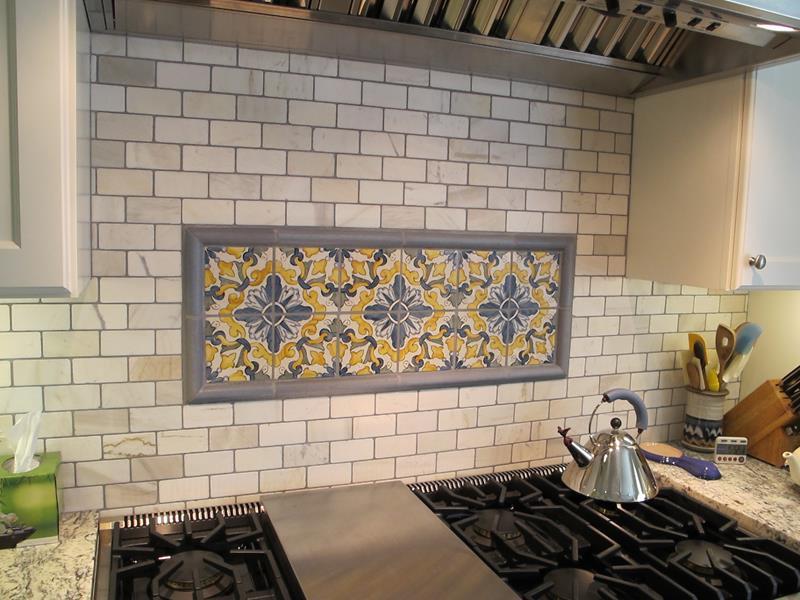 Küchenrückwand Mosaikbild