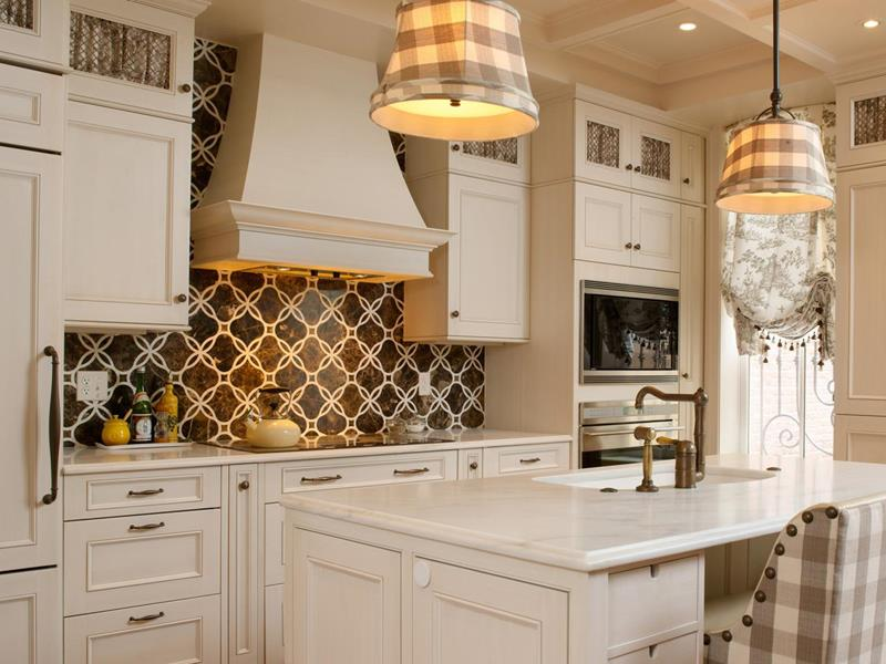 Kücherückwand rustikal