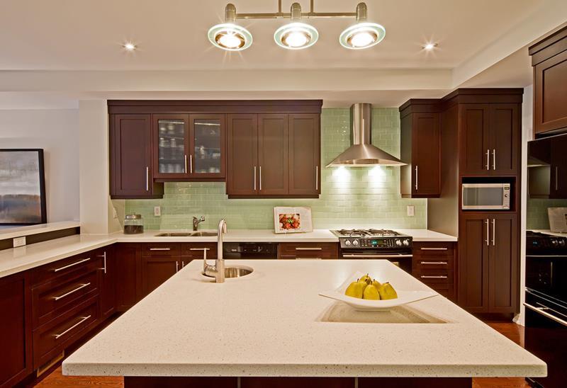 Moderne Küche Küchenrückwand