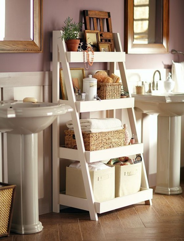 Praktische Badezimmer Ideen Wäschekörbe