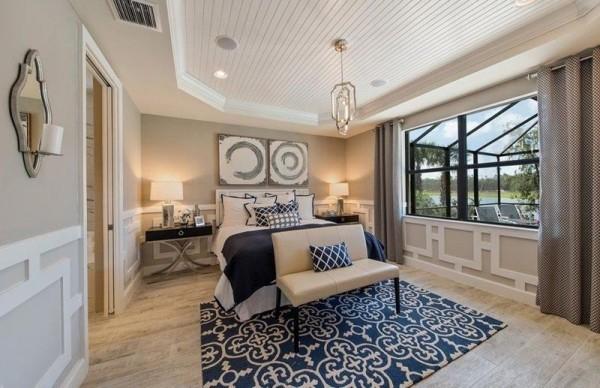 Schlafzimmer Ideen behagliches luxuriöses Ambiente
