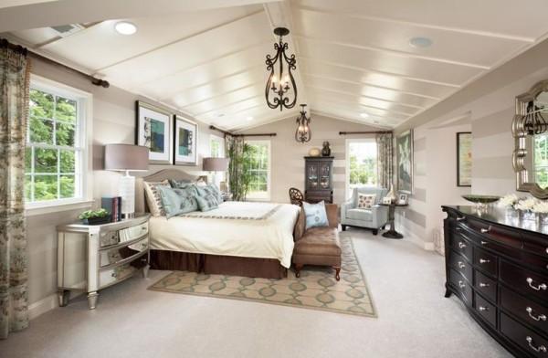Schlafzimmer Ideen viel Raum