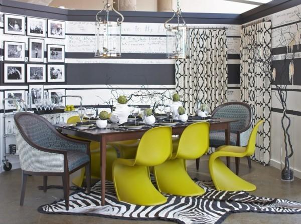 Stühle Deko Artikel Chartreuse Esszimmer