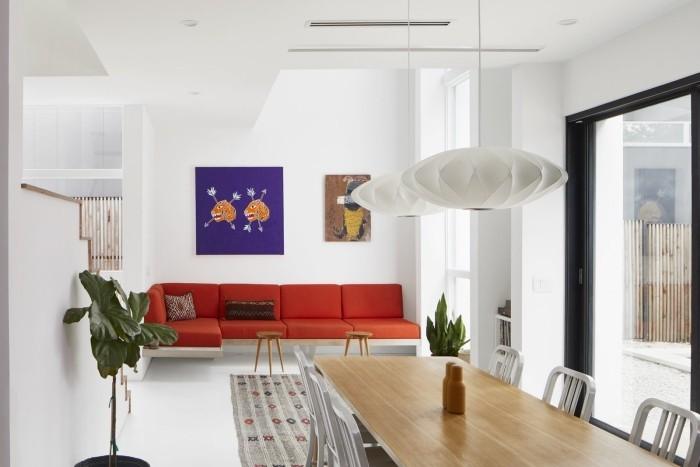 Traumhaus dekoration aussicht wohbnzimmer