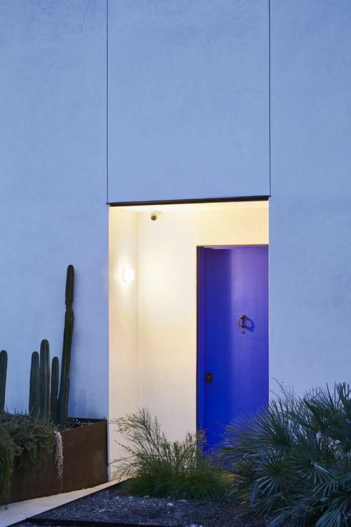 Traumhaus fassadengestaltung tolle eingangstür