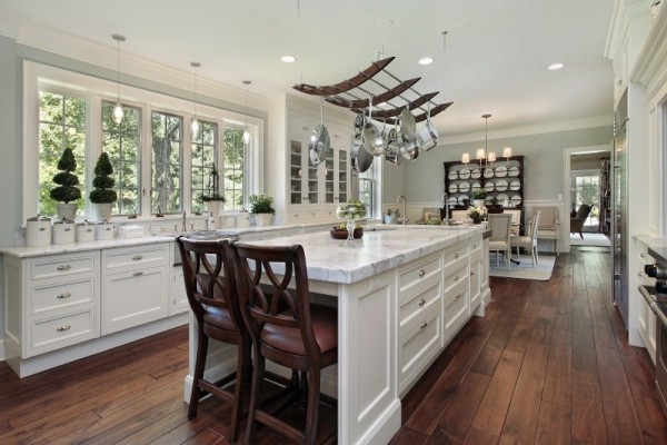 Weiße Küche modern-kueche