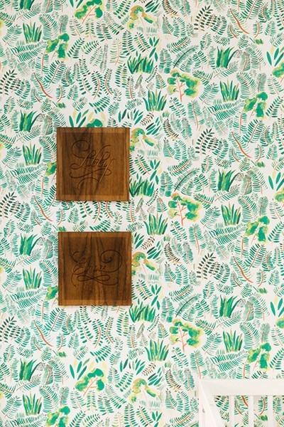 Wohnideen Tapete schöne frische Muster