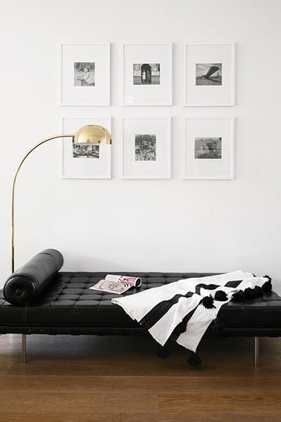 Wohnideen weiße Wand