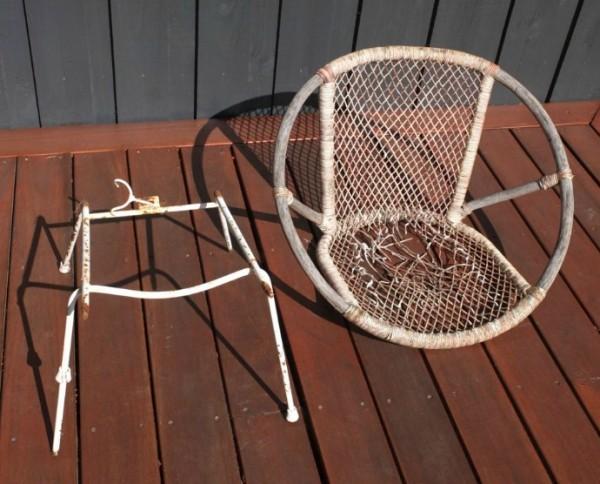 alter stuhl nähen aus stoffresten