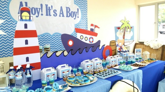 baby shower party ideen anuendigung