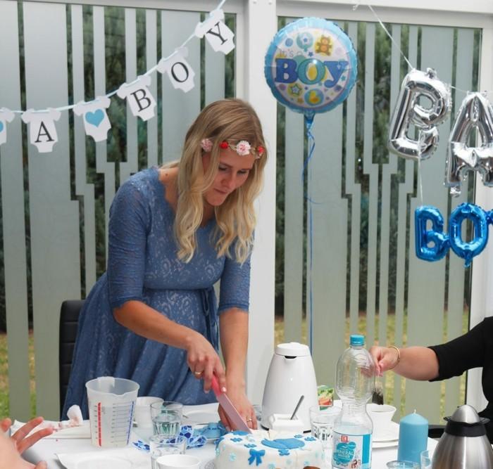 baby shower partz torte feier