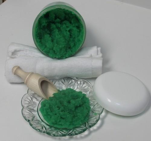 badesalz selben machen ideen mit algen DIY valentinstag