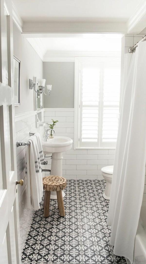 badezimmer einrichtung schwarzer boden