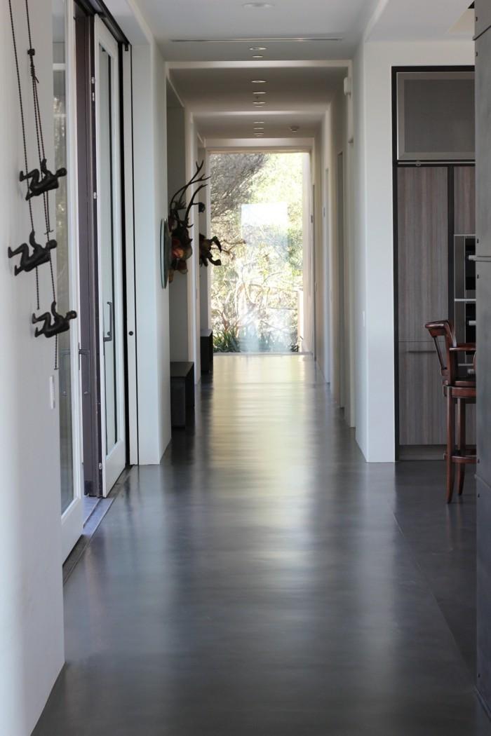betonboden schöner bodenbelag ideen