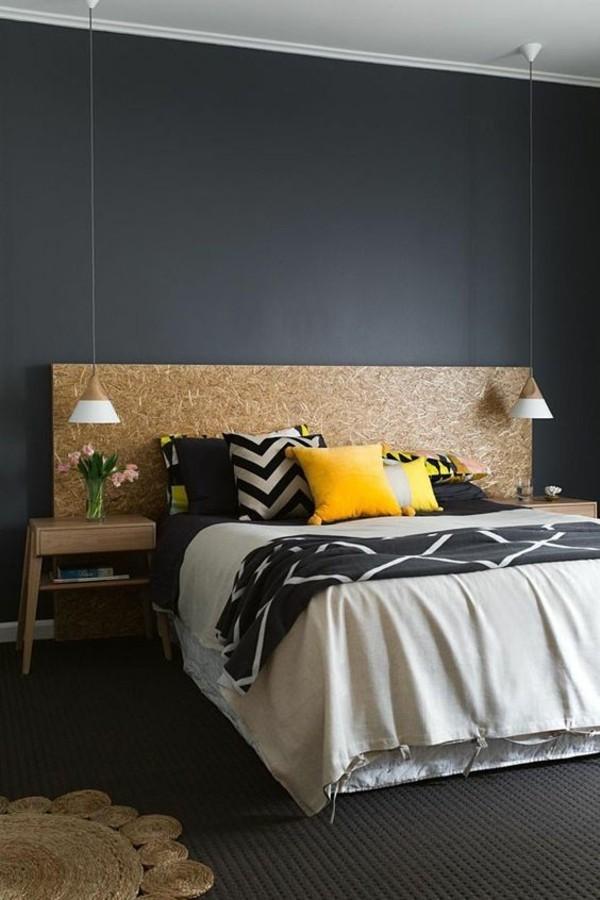 45 Schlafzimmer Ideen Für Bett Kopfteil Für Stilvolle Innengestaltung ...