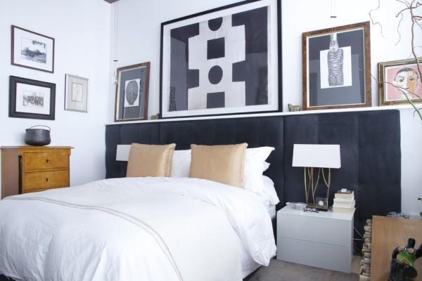 45 schlafzimmer ideen f r bett kopfteil f r stilvolle. Black Bedroom Furniture Sets. Home Design Ideas