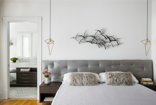 Awesome kopfteil fur bett wanddeko schlafzimmer ideas for Ausgefallene wanddeko