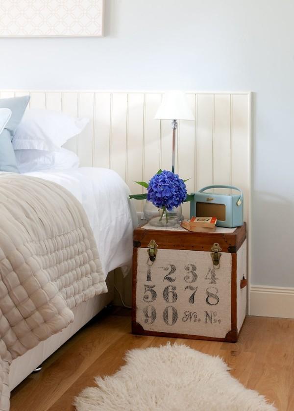 45 schlafzimmer ideen f r bett kopfteil f r stilvolle innengestaltung. Black Bedroom Furniture Sets. Home Design Ideas