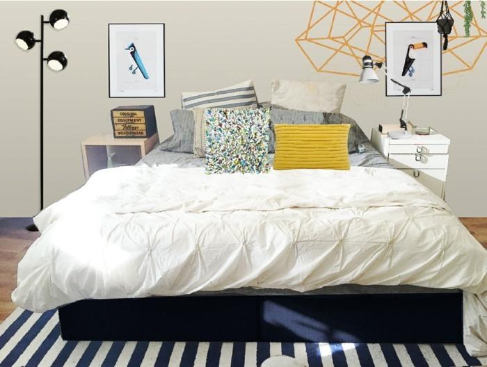 bett ohne kopfteil 33 beweise dass bettkopfteile nicht obligatorisch sind. Black Bedroom Furniture Sets. Home Design Ideas