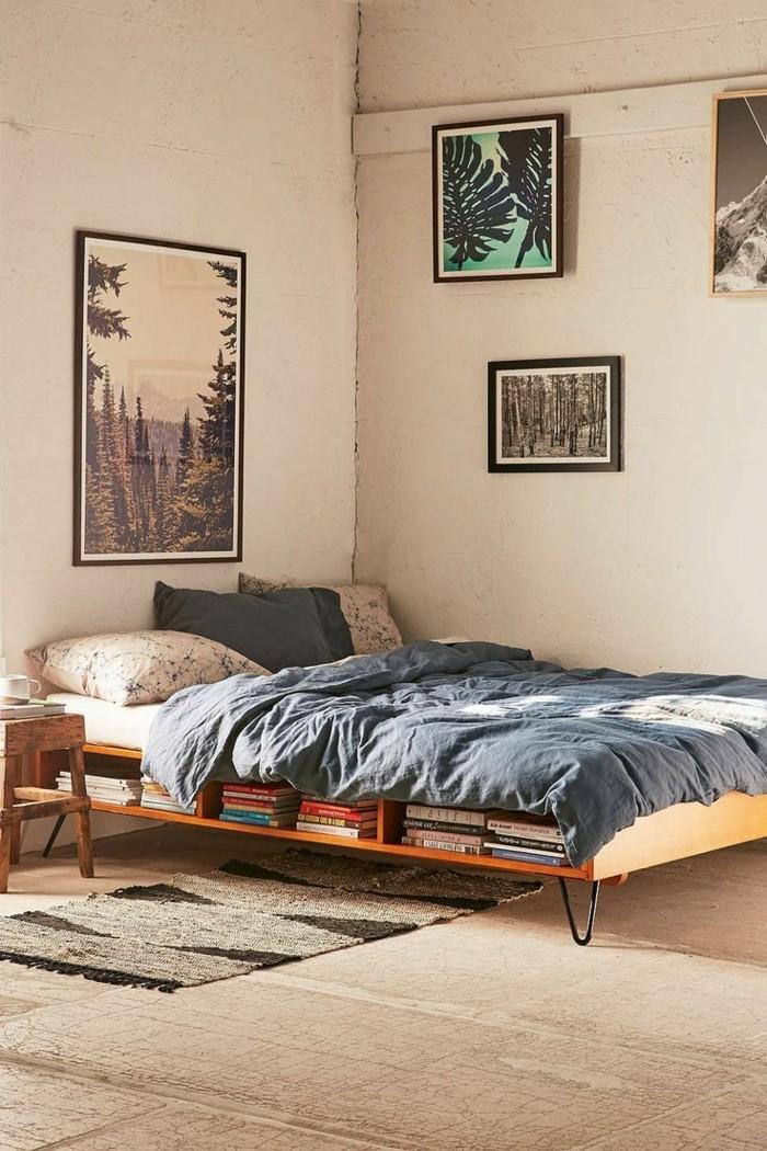 Bett Ohne Kopfteil Kleines Schlafzimmer Gemütlich