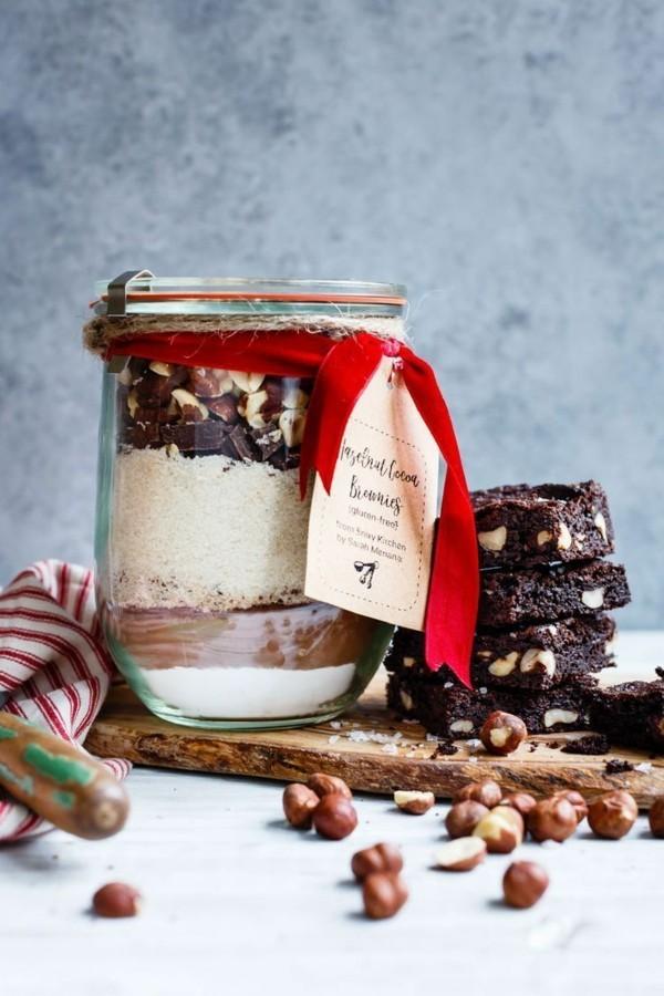 brownie mischung geschenke aus der küche