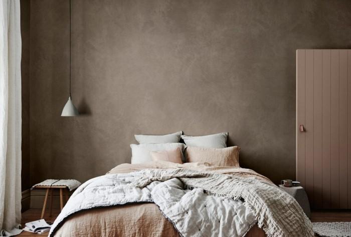 cappuchino erdinge wandfarbe schlafzimmer farben trends - Wandfarbe Schlafzimmer
