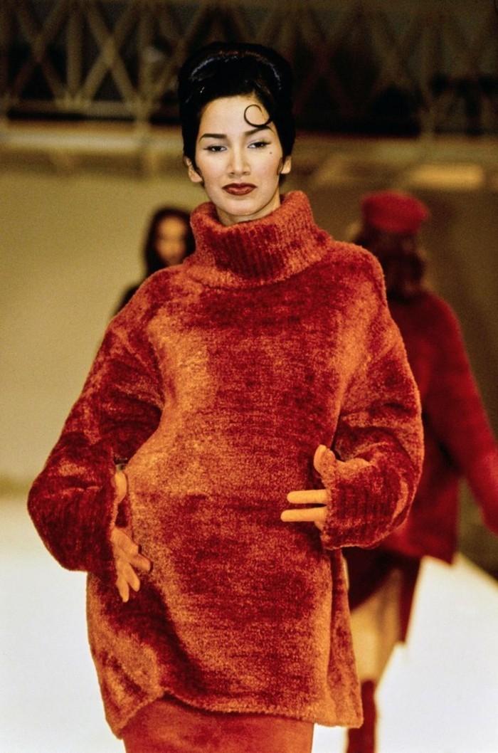 chenille pullover