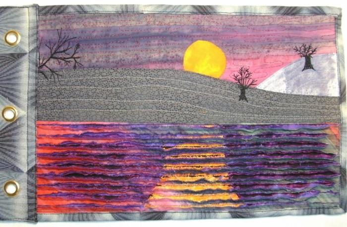 chenille textille kunst