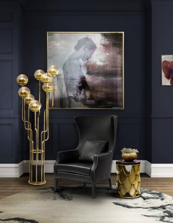 designer sessel leder deko trends 2018 teppich