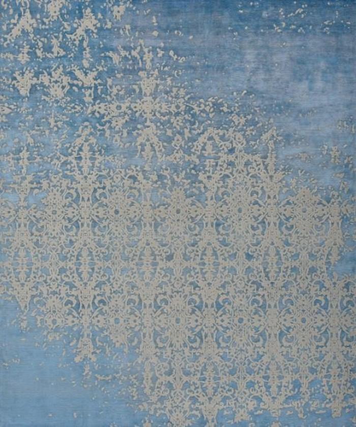 designerteppiche jan kath kobalt