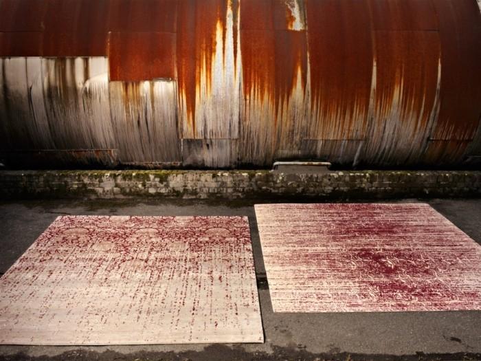 designerteppiche jan kath zwei farben
