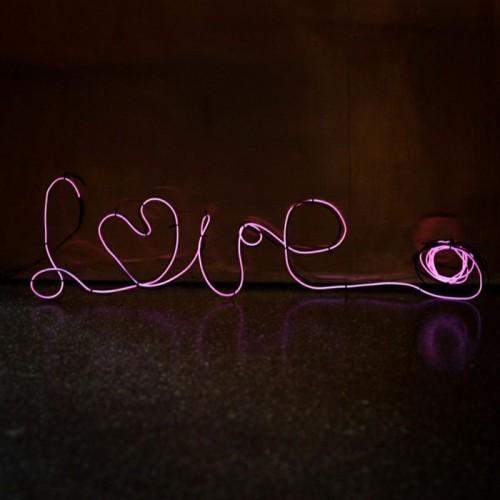 diy valentinsgeschenk diy valentinstag LED Geschaendniss pink