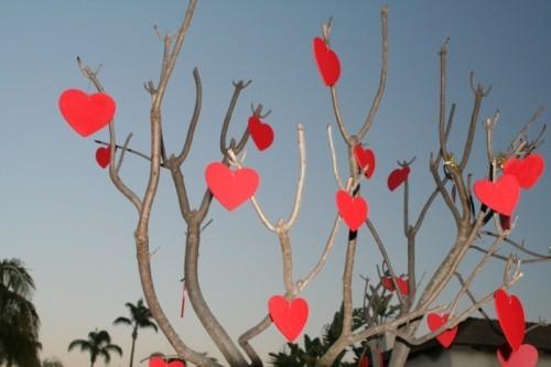 diy valentinsgeschenk diy valentinstag gartendeko herze