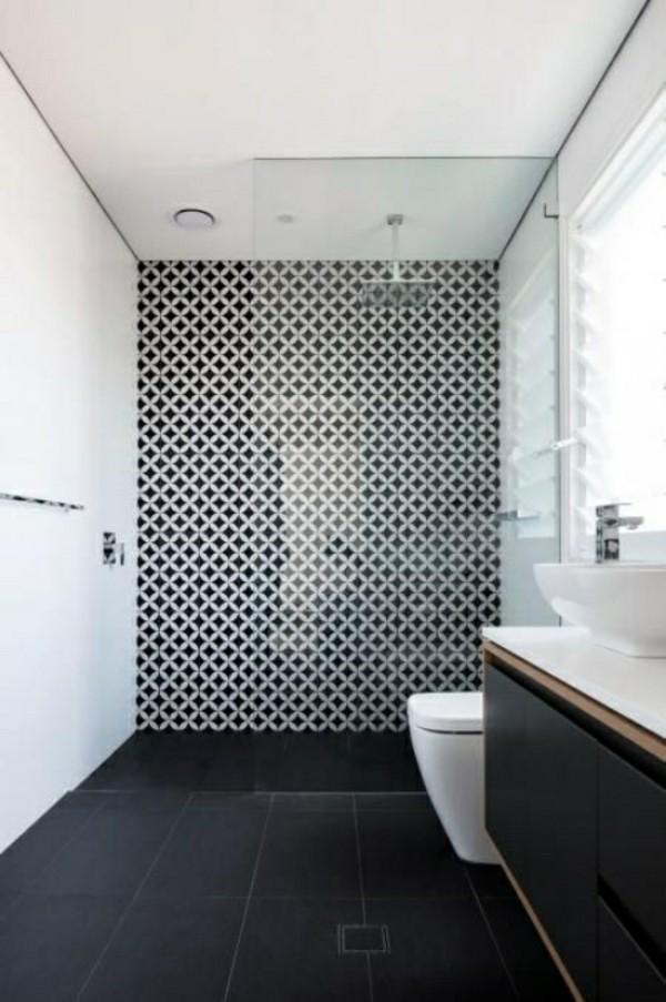 effektvolles design badezimmer einrichtung