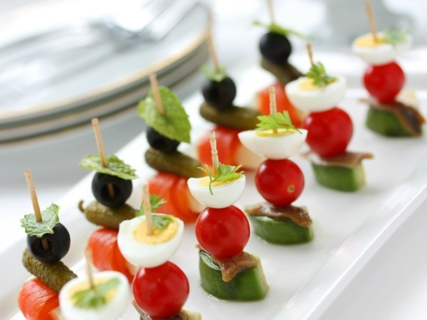 eier oliven tomaten party fingerfood ideen