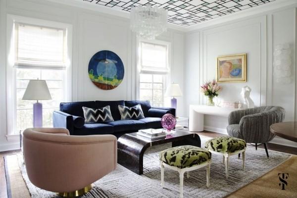 einrichungsideen inneneinrichtung breites wohnzimmer