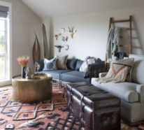 So wählen Sie einen passenden Teppich für Wohnzimmer aus