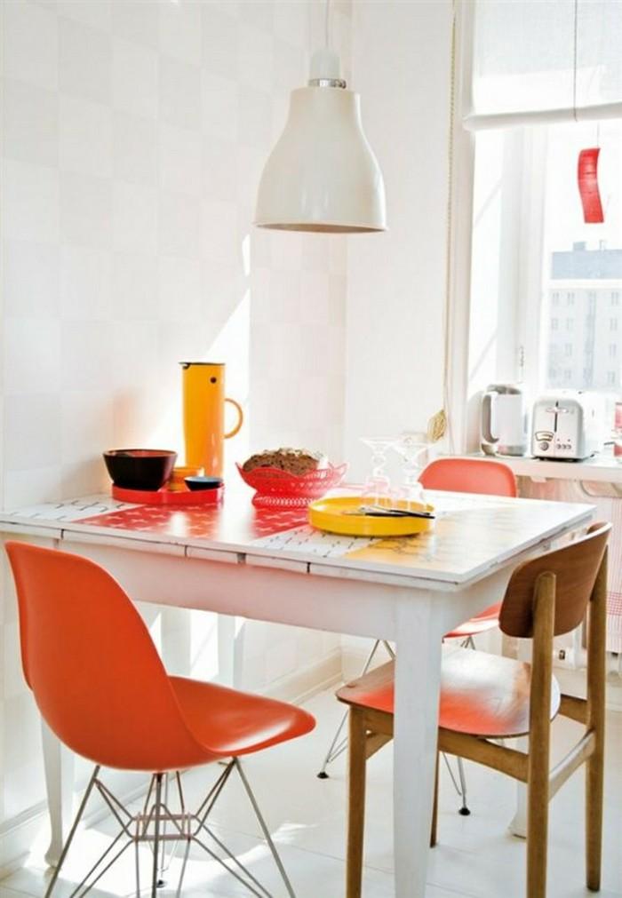 farbgestaltung tangerine trandfarbe hocker