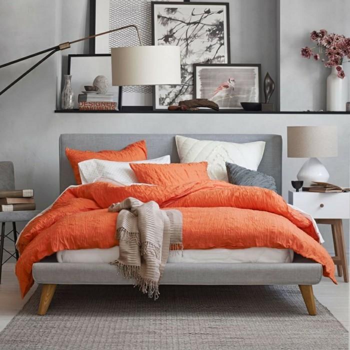 farbgestaltung tangerine trandfarbe orange dh