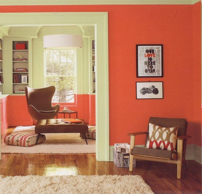 farbgestaltung tangerine trandfarbe