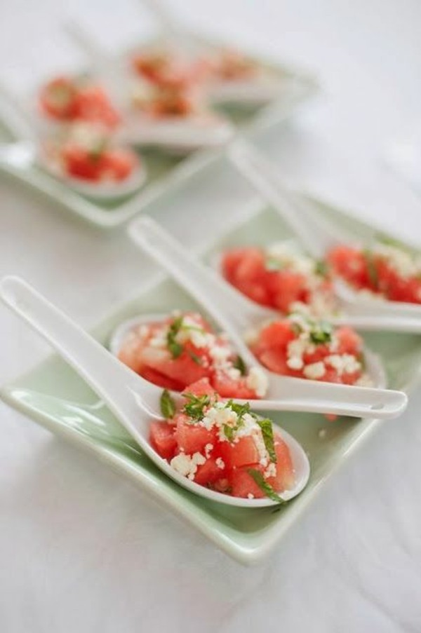 feta wassermelone party fingerfood