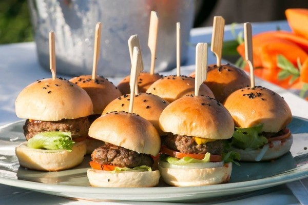 fleisch burger mini party fingerfood rezepte